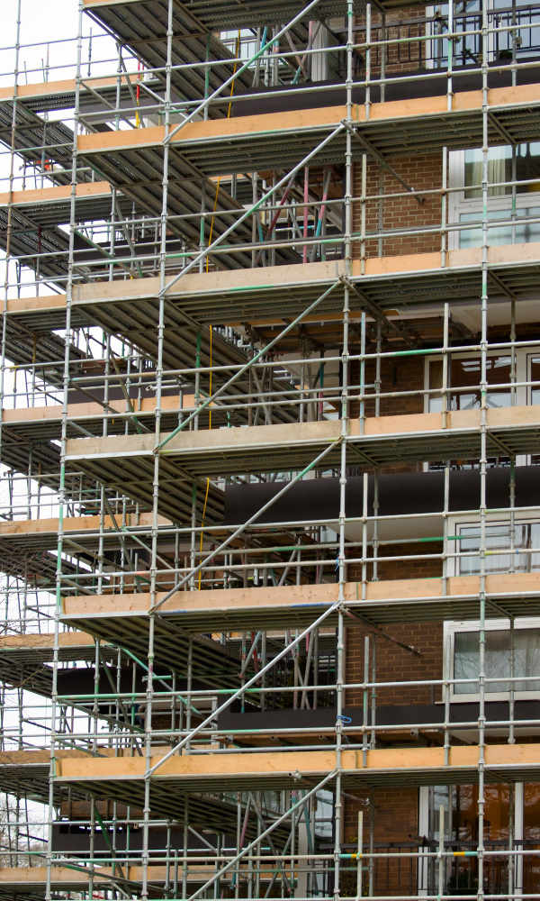 Picture of scaffolding