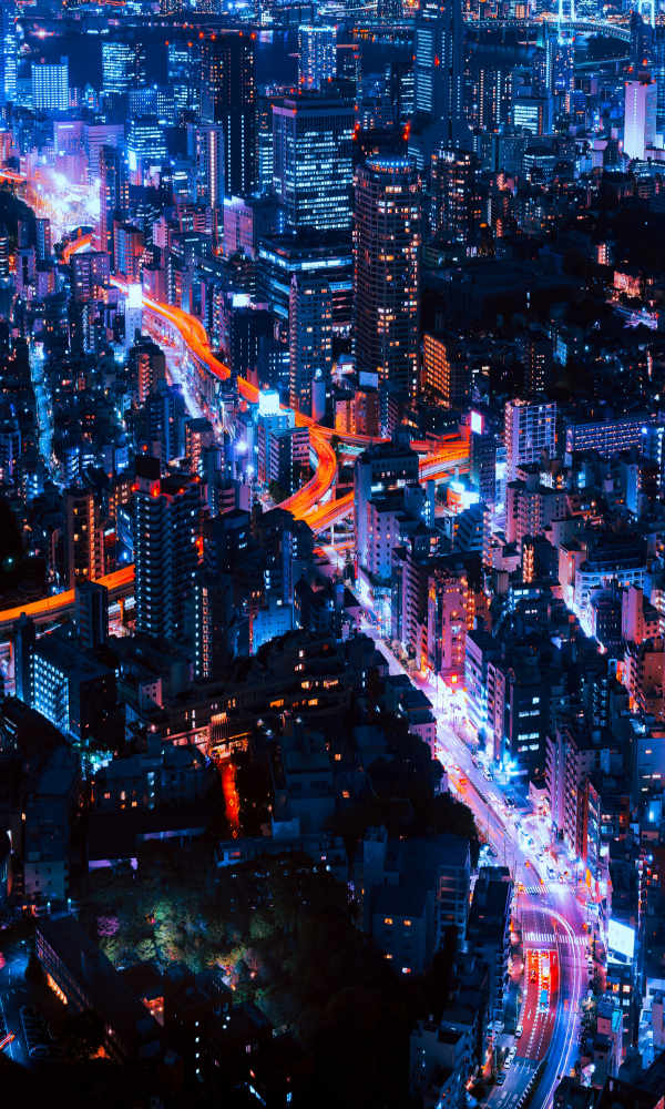 Image of downtown Tokyo to represent noise